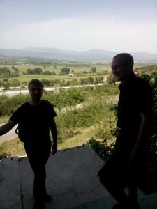 Blick über die Tiefebene von Idomeni